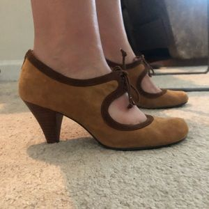 Style & co brown suede heels